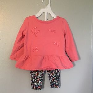 Infant sweater and leggings